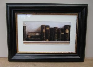 Lijst boeken donkerbruin  per stuk