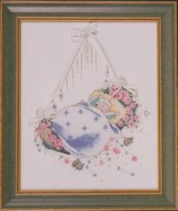 Rosebud Lullaby Mirabilia Designs patroon  per stuk