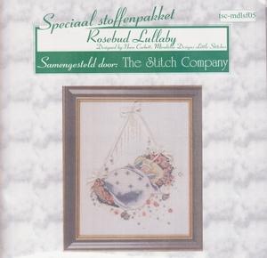 Rosebud Lullaby Mirabilia Designs speciaal stoffenpakket  per stuk
