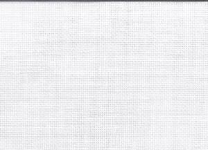 Linnen wit 11dr/cm 28 count  per stuk