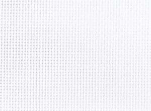 Aïda 5,5/cm 14 count gebroken wit  per stuk
