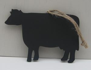 Koe krijtbord  per stuk
