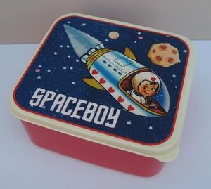 Lunchbox spaceboy  per stuk