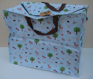 Shopper woodland  per stuk
