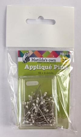 Applique spelden/pins 2 cm  per stuk