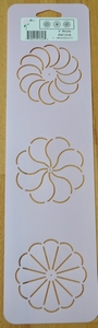 Quilt stencil Block 3 inch Rond  per stuk