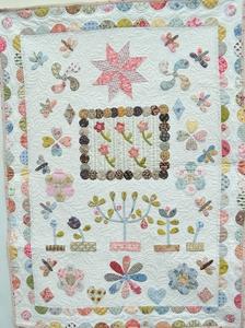 The Orchard Crib Quilt Nederlands patroon  per stuk