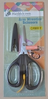 Canary schaar serrated middel  per stuk
