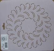 Quilt stencil Block 8inch per stuk