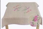Tafelkleed Lathyrus (Sweet Peas tablecloth) compleet set
