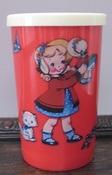 Beker dollygirl per stuk