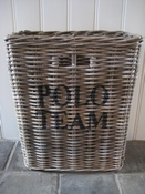 Mand Polo Team rechthoek hoog model per stuk