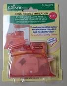Clover draaddoorhaler needle threader pink per stuk