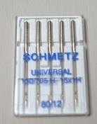 Schmetz universal 80/12 per stuk
