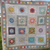 Mrs Button-Shaw printed pattern per stuk