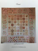 Fleur patroon/pattern (printed) per stuk